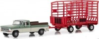 1:64 FORD F-100 пикап Farm & Ranch Special с прицепом 1969