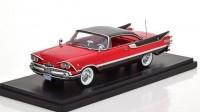 1:43 DODGE Customs Royal Lancer Coupe 1959 Red/Black