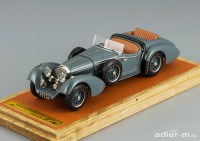 1:43 Mercedes-Benz SS By Erdmann & Rossi, top down + extra seat, L.e. 50 pcs. (grey)