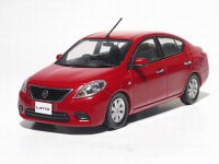 1:43 Nissan Tiida / Latio (burning red)