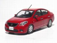 1:43 Nissan Tiida / Latio (burning red)