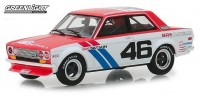 1:43 DATSUN 510 #46 Brock Racing Enterprises (BRE) John Morton 1971