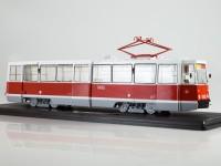 1:43 Трамвай КТМ-5М3 (71-605) Ленинград, маршрут 26