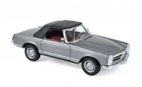 1:18 MERCEDES-BENZ 230SL Cabriolet (W113) 1963 Anthracite Metallic