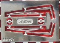 1:43 набор фототравления дворники КРАЗ 260 блестящий никель