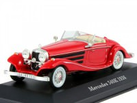 1:43 MERCEDES-BENZ 540K 1936 Red