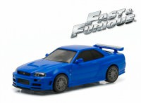 "1:43 NISSAN Skylline GT-R (R34) 2002 ""Fast & Furious"" (из к/ф ""Форсаж IV"")"