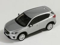 1:43 MAZDA CX-5 кроссовер 4х4 2012 Silver