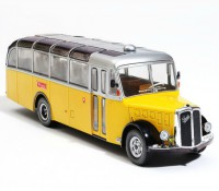 1:43 SAURER L4C SWITZERLAND 1959 желтый с серебристым