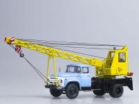 1:43 АК-75В (на шасси ЗИЛ-130), голубой/жёлтый