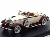 1:43 PACKARD 902 Standard Eight Convertible 1932 Light Beige/Red