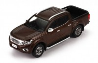 1:43 NISSAN Navara Pick-up 2017 Metallic Brown