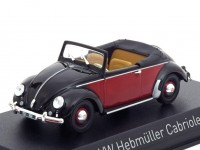 1:43 VW Hebmüller 1949 Black/Red