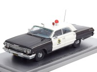 "1:43 CHEVROLET Biscayne ""San Carlos Police Department"" 1963"