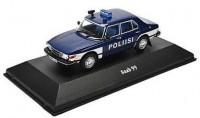 """1:43 SAAB 99 """"Poliisi"""" (полиция Финляндии) 1974"""