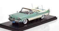 1:43 DODGE Customs Royal Lancer Convertible 1959 Metallic Light Green/White