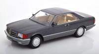 1:18 MERCEDES-BENZ 560 SEC (C126) 1985 Metallic Anthracite