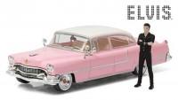 "1:43 CADILLAC Fleetwood Series 60 Elvis Presley ""Pink Cadillac"" c фигуркой Э.Пресли 1955"
