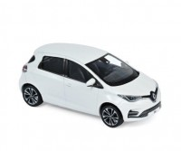 1:43 RENAULT Zoe ZE50 2020 Pearl White