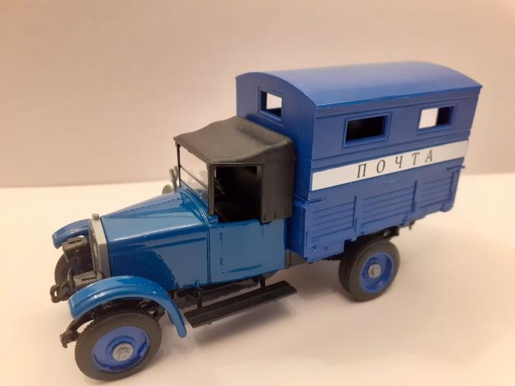 1:43 АМО-Ф-15 фургон Почта