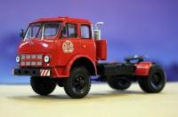 1:43 МАЗ 508В/504Г седельный тягач (1970), красный