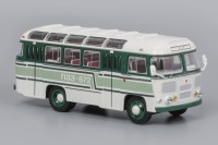 1:43 Павловский автобус 672 Бело-зелёный