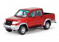 1:43 УАЗ-3163 «Патриот» Пикап 4x4 Красный
