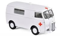 """1:18 PEUGEOT D4B """"Ambulance"""" (скорая медицинская помощь) 1963 White"""