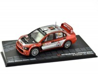 1:43 MITSUBISHI Lancer WRC #10 G.Panizzi/H.Panizzi Rally Monte-Carlo 2005