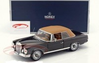 1:18 MERCEDES-BENZ 280 SE Cabriolet (W111) 1969 Brown