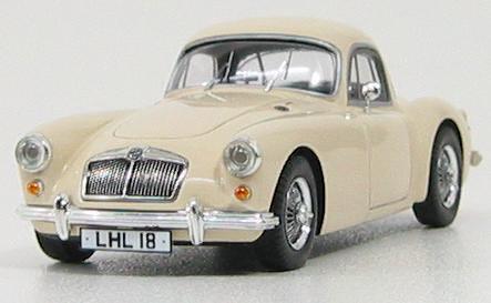 1:43 MG MGA 1600 Coupe 1960 (biege)