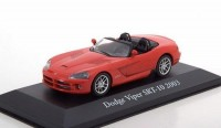 1:43 DODGE Viper SRT-10 2003 Red