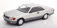 1:18 MERCEDES-BENZ 560 SEC (C126) 1985 Silver