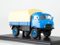 1:43 Tatra-805 голубой/жёлтый