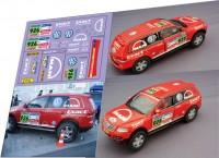 1:43 набор декалей VW Touareg Dakar 2007