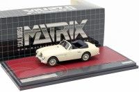 1:43 ASTON MARTIN DB2/4 MKII Tickford (открытый) 1955 White