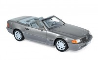 1:18 MERCEDES-BENZ 500SL (R129) 1989 Grey Metallic