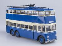 1:43 Троллейбус ЯТБ-3 1939 г. двухдверный