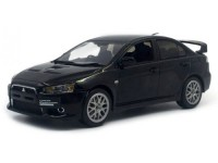 1:43 MITSUBISHI Lancer EVO X Final Edition 2015 Black