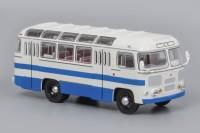 1:43 Павловский автобус 672 Бело-синий