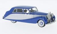 1:43 ROLLS ROYCE Silver Wraith Hooper Empress Line 1956 Blue/Grey