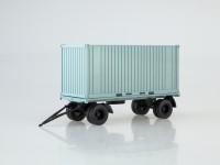 1:43 Прицеп ГКБ-8350 с контейнером