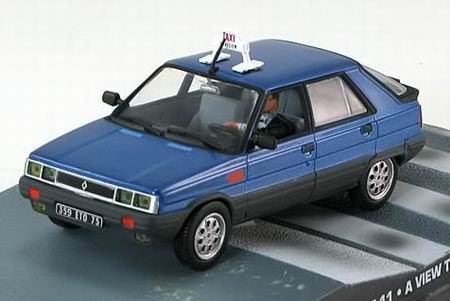 "1:43 Renault 11 Taxi из к.ф. ""A View To A Kill"" 1985 (blue)"