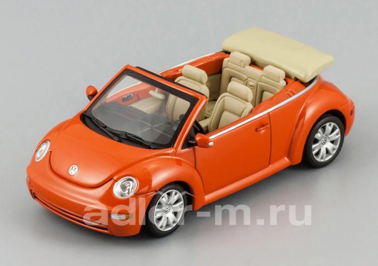 1:43 Volkswagen New Beetle cabriolet (sundown orange)