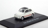 1:43 FIAT Abarth 595 SS 1957 White