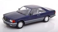 1:18 MERCEDES-BENZ 560 SEC (C126) 1985 Metallic Blue