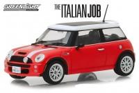 "1:43 MINI COOPER S 2003 Red with White (из к/ф ""Ограбление по-итальянски"")"