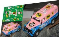 1:43 набор декалей Land Rover Duc Z dakar 1994