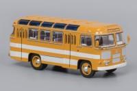 1:43 Павловский автобус 672 Охра, белые полосы
