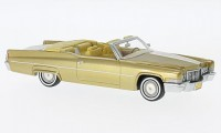 1:43 CADILLAC Deville Convertible 1970 Gold